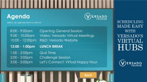 Scheduling made easy with Versado's virtual hubs